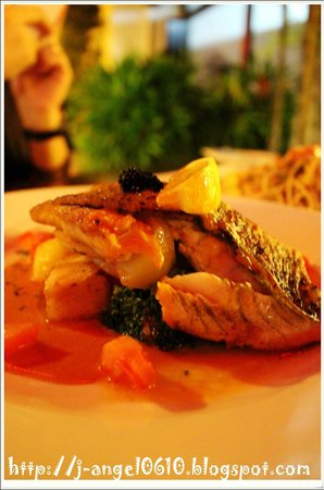 Bistro Year 1673: Oven Baked Sea Bass Fillet