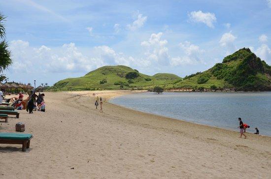 Novotel Lombok: une partie de la plage