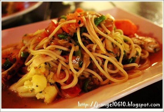 Bistro Year 1673: Spaghetti Gamberoni