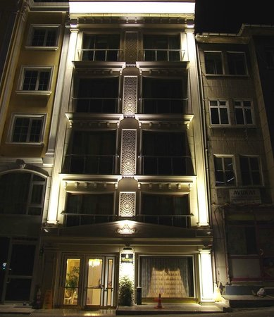 World Heritage Hotel Istanbul: Front