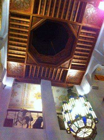Restaurant Tissemlal o Casa Hassan: local muy bonito pero comida no a la altura