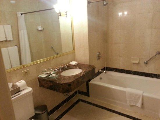 Avalon Hotel: baño