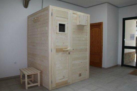 Camping la Sierrecilla: Sauna