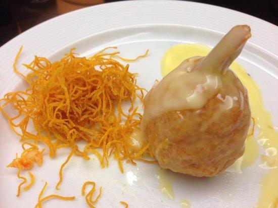 Costanera 700: Shrimp meatballs