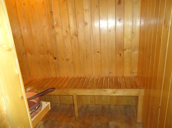 Grand View Hotel: SAUNA BATH AREA