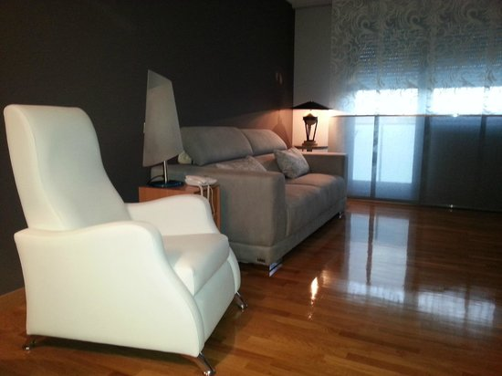 Hostal Mesón del Barro: sala de estar de  un apartamento