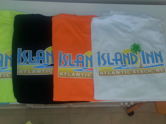 Island Inn of Atlantic Beach: Long and Short Sleeves now available!