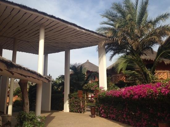 Lamantin Beach Resort & Spa : Reception at Lamantin