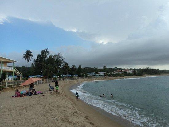 Parador Villas del Mar Hau: La playa