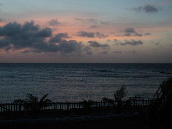 Parador Villas del Mar Hau: Atardecer