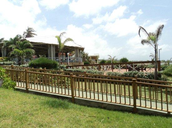 Parador Villas del Mar Hau: El restaurante