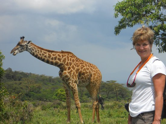 Rafiki Backpackers & Guesthouse: So close to Giraffes