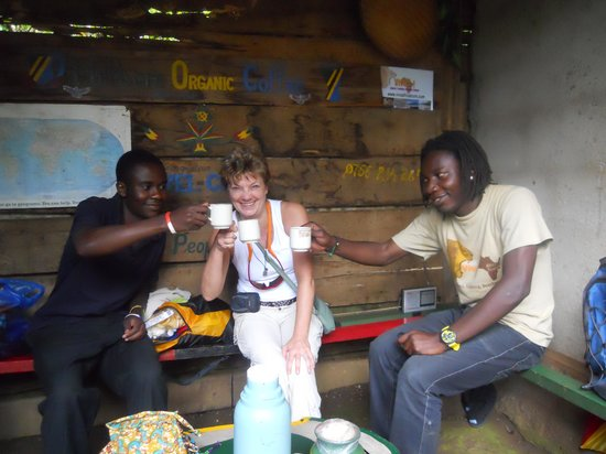 Rafiki Backpackers & Guesthouse: Made my own coffee