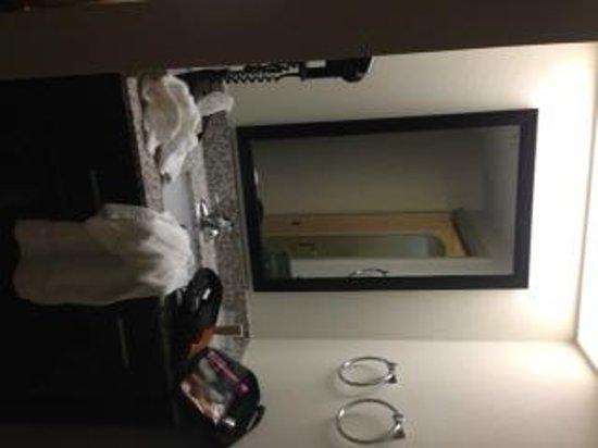 Sleep Inn, Potomac Mills : Separate sink area (hair dryer)