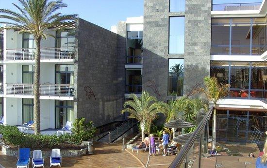 THe Mirador Papagayo Hotel : view from lobby bar