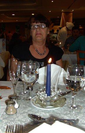 THe Mirador Papagayo : new years day meal
