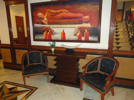Hotel Grand President: hotel lobby