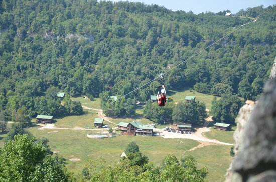 Jasper, AR: Horseshoe Canyon Ranch Zip Line IRON HORSE