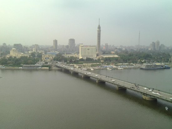 InterContinental Cairo Semiramis: A room with a view