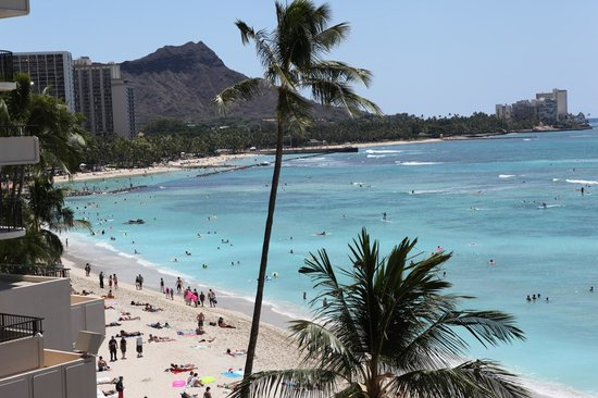 Outrigger Waikiki Beach Resort: View from the room