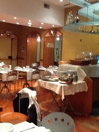 Hotel Corot: sala colazione