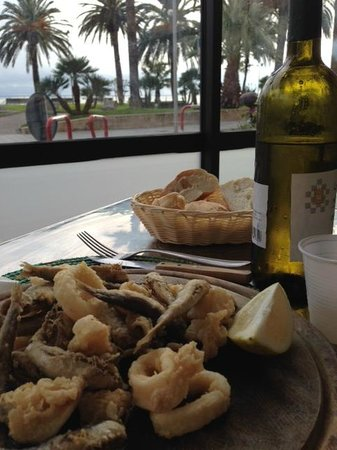 Loano, إيطاليا: frittura di pesce