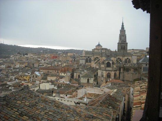 Sercotel Alfonso VI: Vista desde habitación orientación suroeste