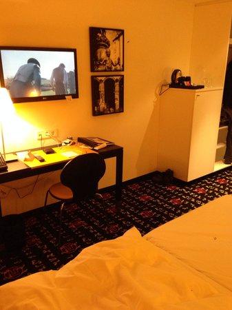 angelo by Vienna House Munich Westpark : Stanza dell'hotel!