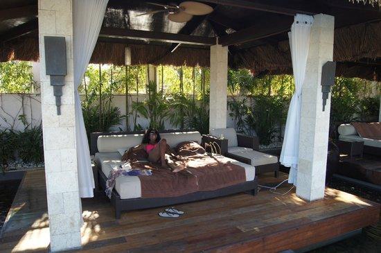 Abaca Boutique Resort : Pool Cabana