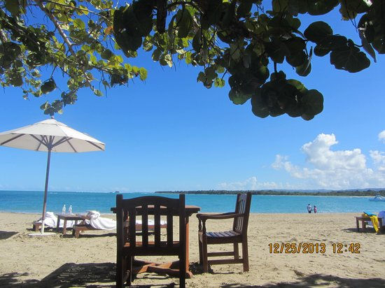 Casa Colonial Beach & Spa: Lunch and dinner on the beach