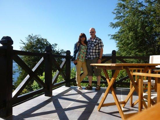 Hosteria Le Lac : Vista desde el deck