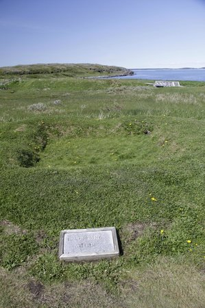 L'Anse Aux Meadows National Historic Site: Another old building depression