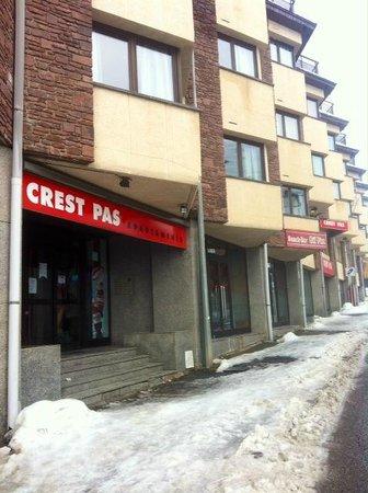 Apartments Crest : fachada