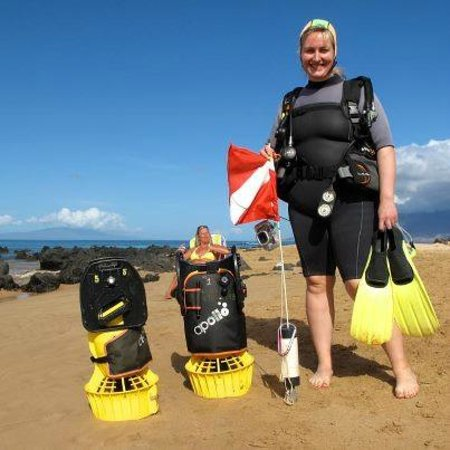 Scuba Luv Maui: JOIN US FOR AN UNDERWATER SCOOTER DIVE!