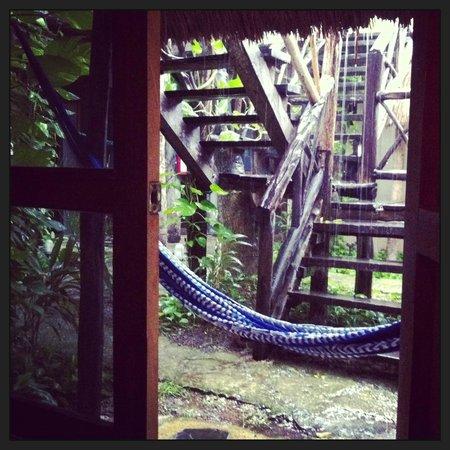 Hotel Kin Ha Pueblo: adorable hammock on the porch.