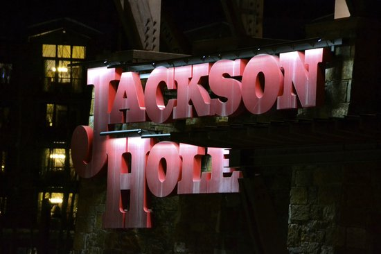 Jackson Hole Mountain Resort: sign