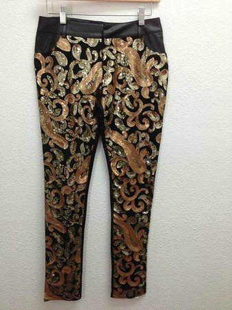 Monalee Boutique: Sequined pants, yum