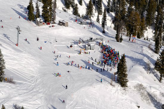 Jackson Hole Mountain Resort: view from the tram