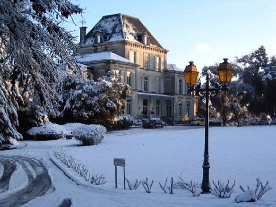 Domaine du Breuil : Le Breuil  Cognac en hiver