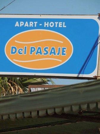 Hotel Del Pasaje: Placa do Hotel