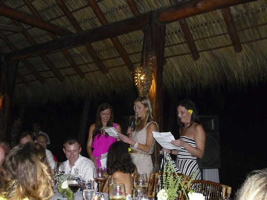 Hotel Punta Islita, Autograph Collection : Rehearsal Dinner Speeches
