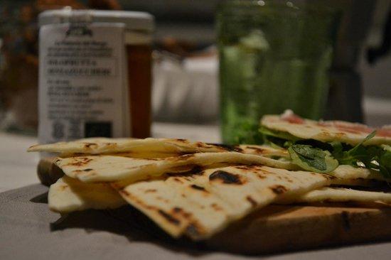 La Combriccola: piadina romagnola a colazione