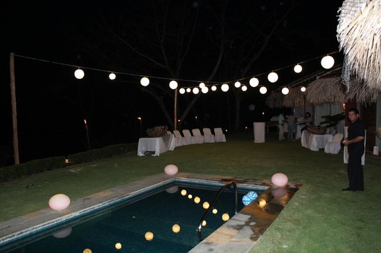 Hotel Punta Islita, Autograph Collection: Welcome Party at Colibri