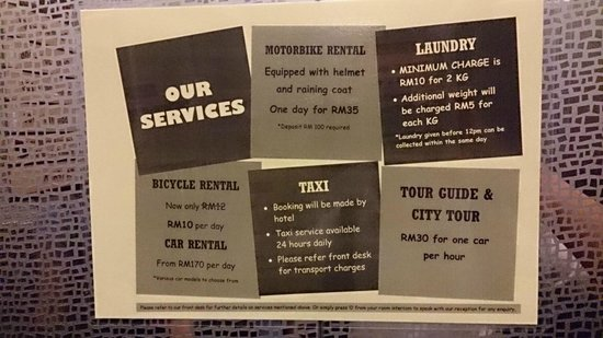 SO Hotel: Hotel services