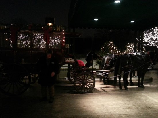The American Club: Private Party Carriage Ride (heated!)