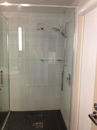 Chateau Marlborough: Huge shower