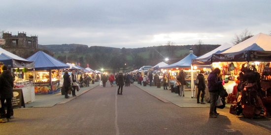 Chatsworth House Chatsworth Christmas Market