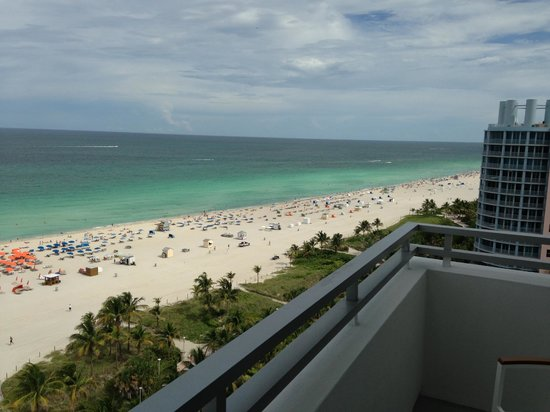 Loews Miami Beach Hotel Nice View From The Balcony
