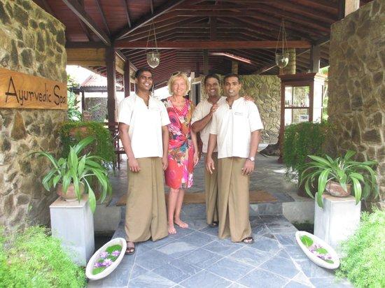 Eden Resort & Spa : spa center