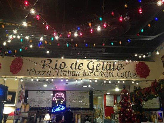 Rio de Gelato: excelente servicio del propietario